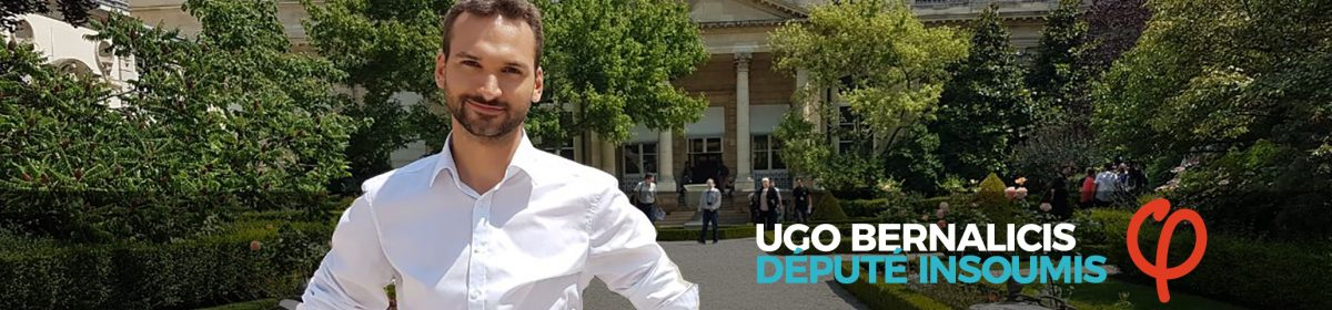 Ugo Bernalicis – Député insoumis