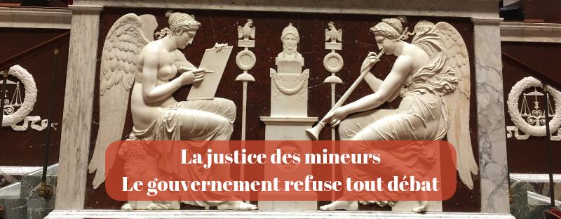 Justice des mineur∙es réformée en catimini : des mauvais coups à prévoir !