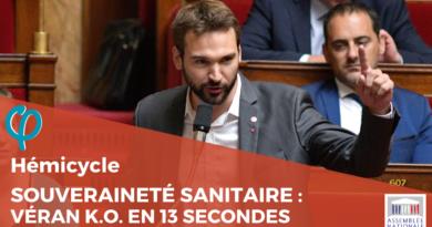Souveraineté sanitaire Ugo Bernalicis met Olivier Véran face à son échec